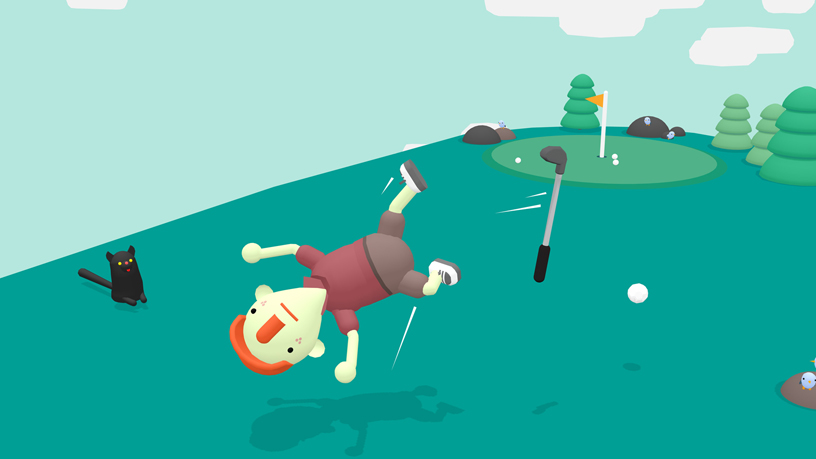 """What the Golf?"" gameplay screen."