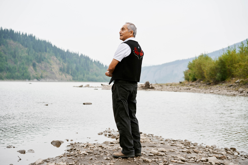 Allen Edzerza, a Tahltan Nation elder and advisor to the British Columbia First Nations Energy and Mining Council.