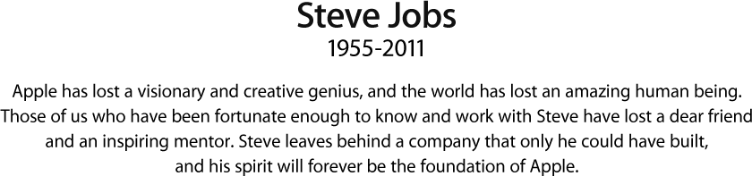 rememberingsteve@apple.com