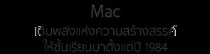 Mac เติมพลังแห่งความสร้างสรรค์ให้ชั้นเรียน มาตั้งแต่ปี 1984