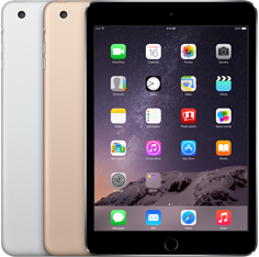 iPad Mini 3 with Retina Display Wi‑Fi and Cellular, 64 GB Space Grey
