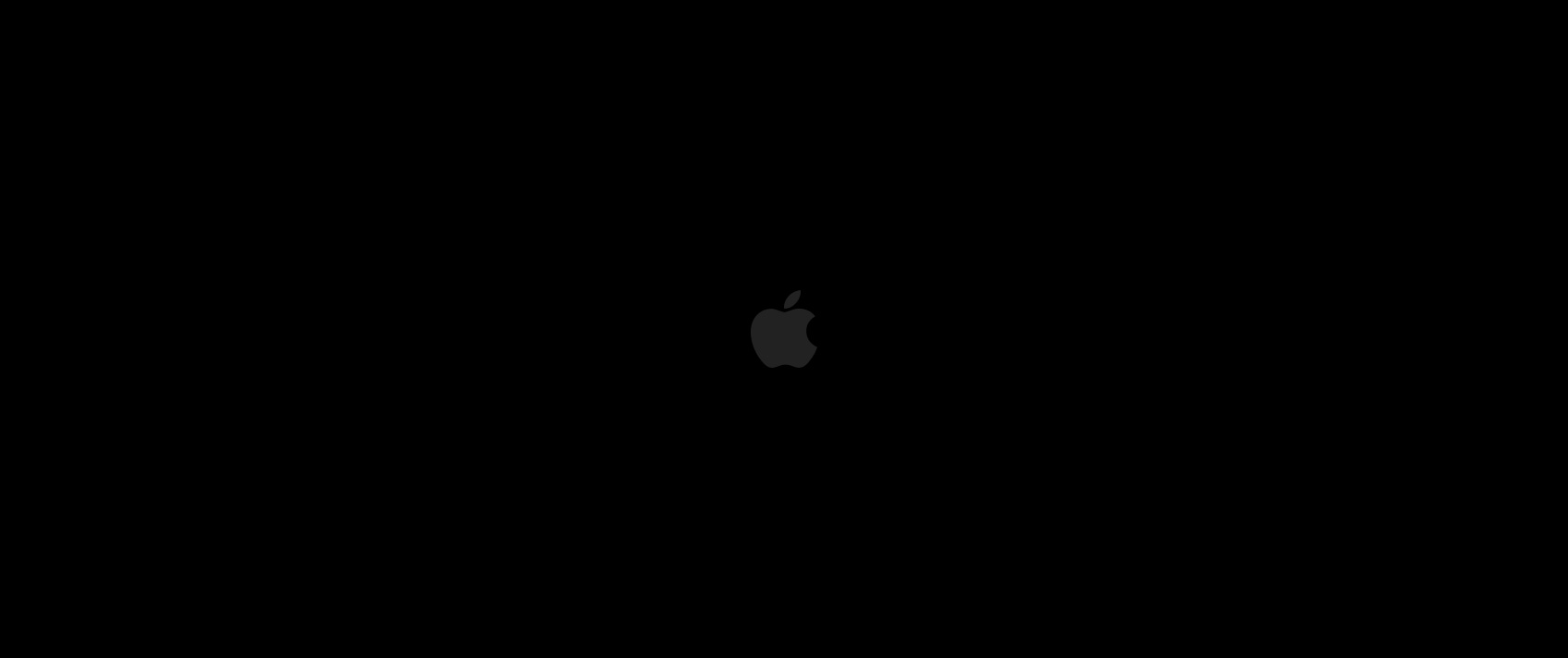 apple black image