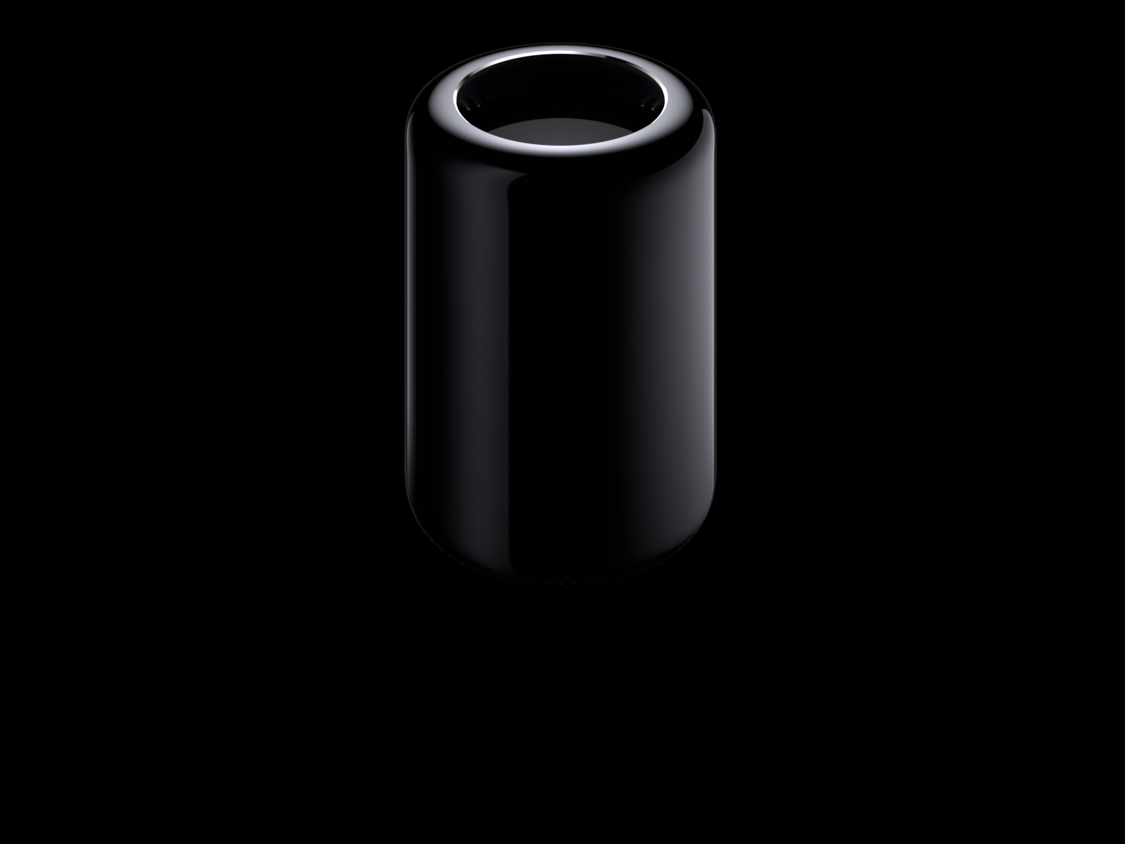 The newly redesigned Mac Pro